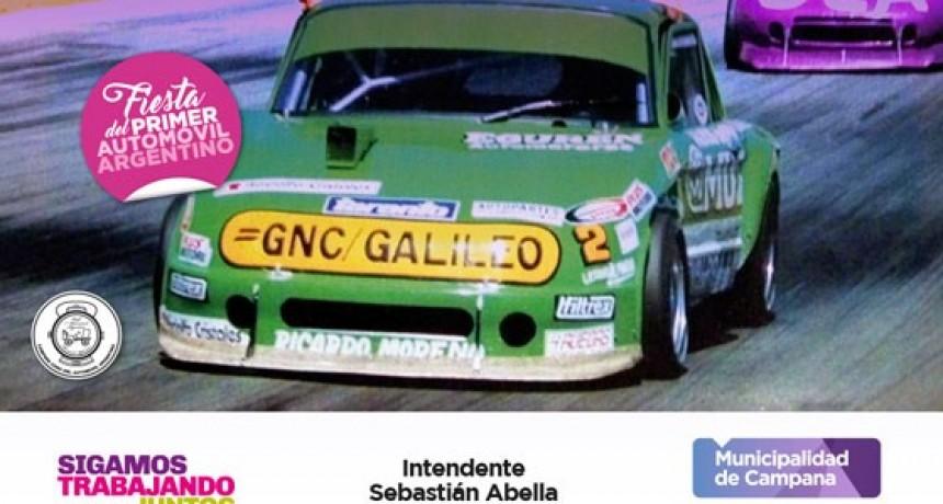 Fiesta del 1º Automóvil: habrá una exhibición de autos de Turismo Carretera