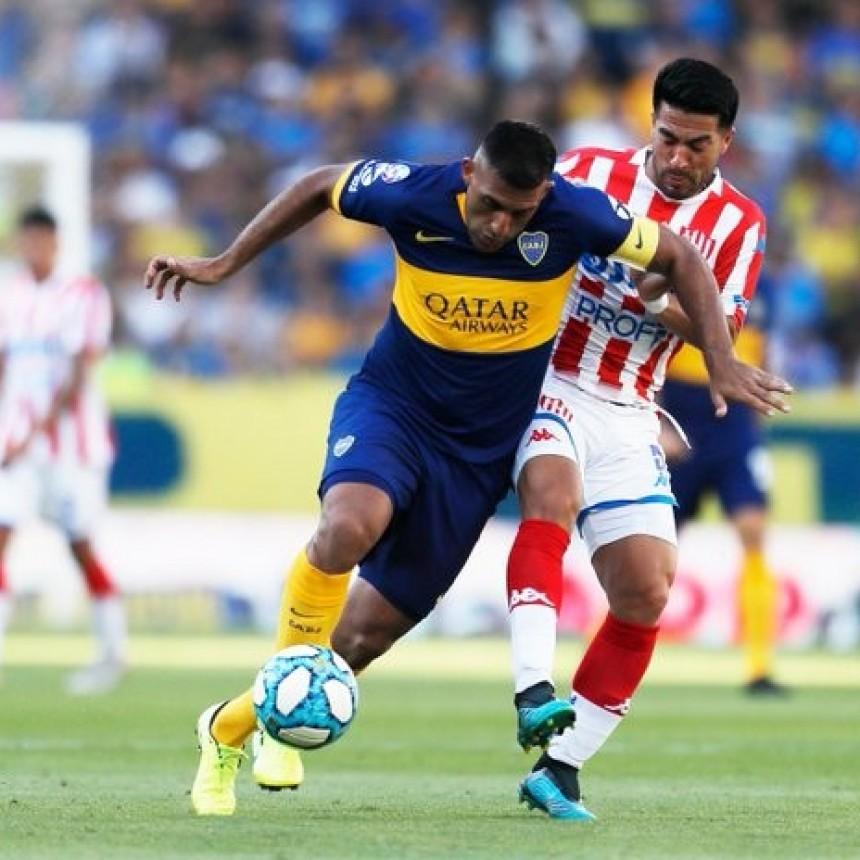 Boca Juniors le ganó a Unión de Santa Fe por 2 a 0