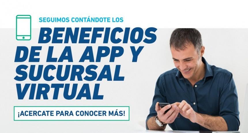 Acercáte a tu Sucursal EDEN y conocé más sobre la App EDEN Móvil y la Sucursal Virtual