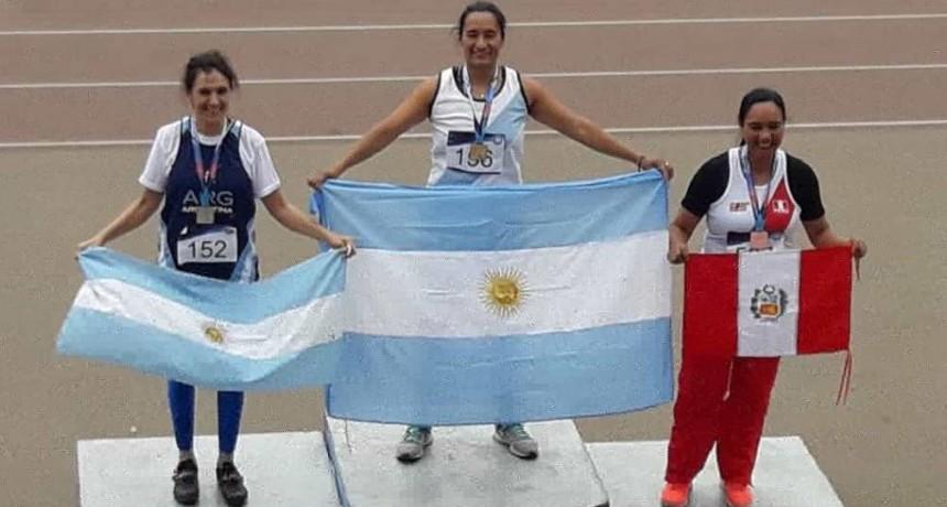 Carolina Vera logró 5 medallas en el Campeonato Iberoamericano Máster