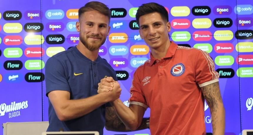 El gran partido del sábado entre los punteros tuvo la conferencia de prensa en la Súperliga Argentina