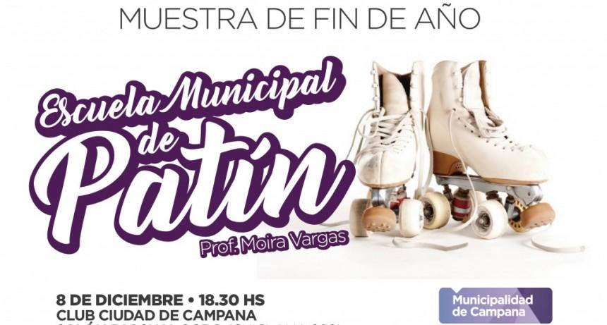 La Escuela Municipal de Patín se prepara para la muestra de fin de año