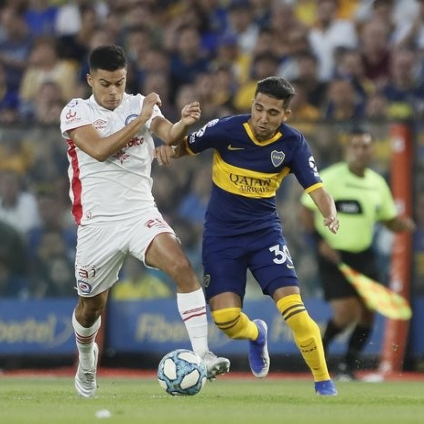 Boca Juniors y Argentinos Juniors empataron 1 a 1