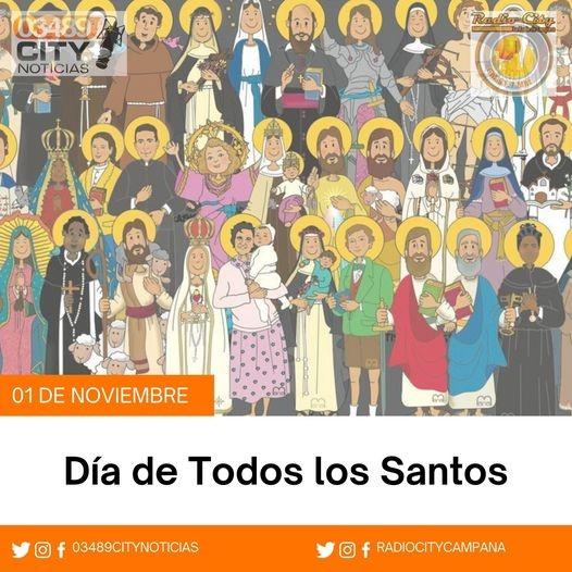 1º DE NOVIEMBRE DIA DE TODOS LOS SANTOS