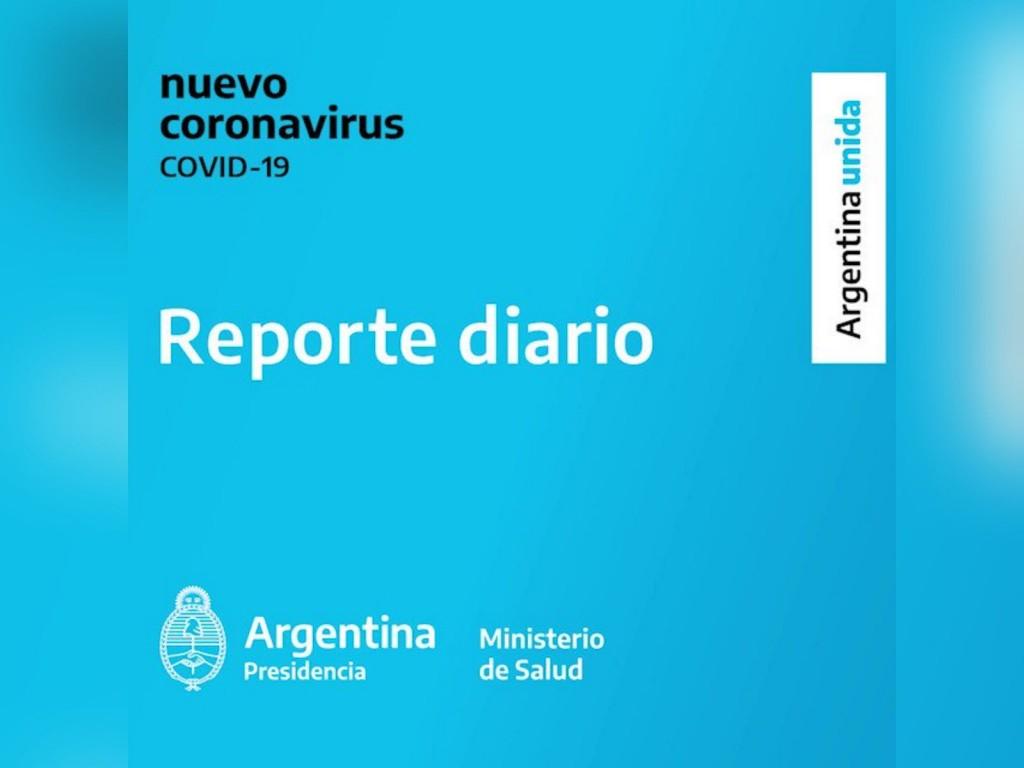 02/11/2020  REPORTE DIARIO VESPERTINO NRO 423 | SITUACIÓN DE COVID-19 EN ARGENTINA : BAJO EL NUMERO DE CONTAGIOS