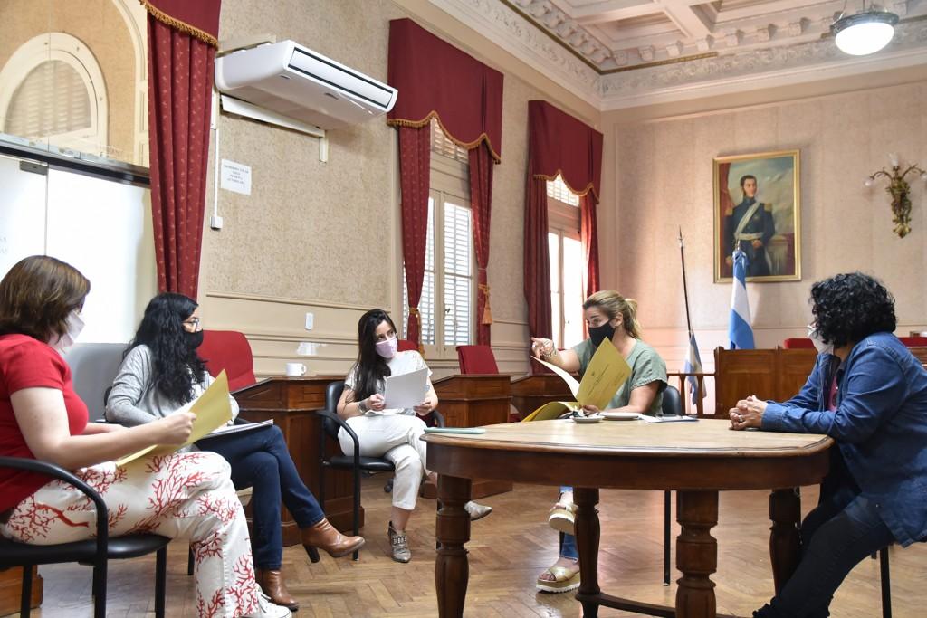 El Consejo de Género y Violencia Familiar definió los proyectos que se presentados en el HCD