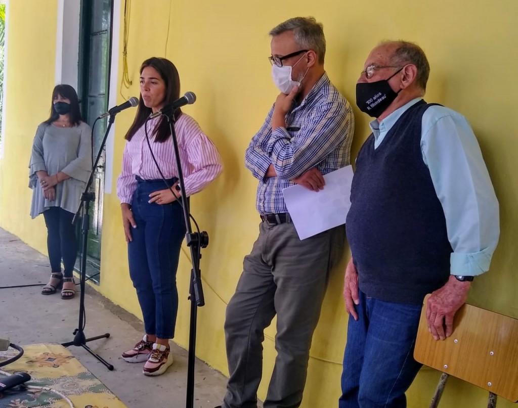 La Ministra de Gobierno bonaerense acompañó  el acto por los 100 años del recreo Blondeau