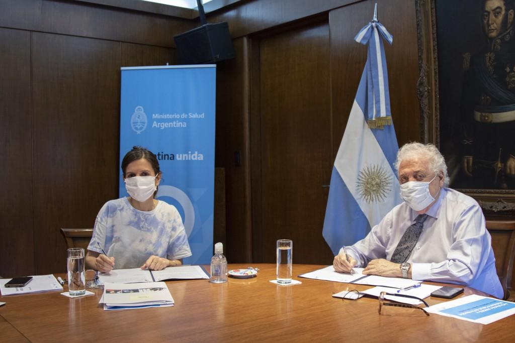 SALUD Y ANSES FIRMARON CONVENIO DE INTERCAMBIO ELECTRÓNICO DE INFORMACIÓN
