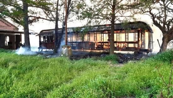 El Museo Ferroviario se expresó sobre el incendio de un vagón en los antiguos talleres