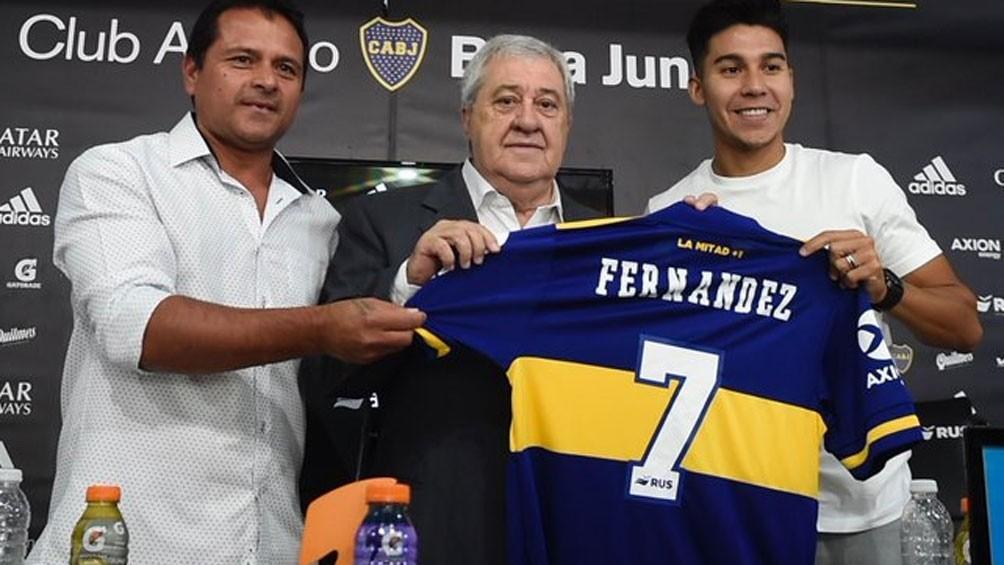 Es difícil la continuidad de  Guillermo Fernàndez en Boca Juniors