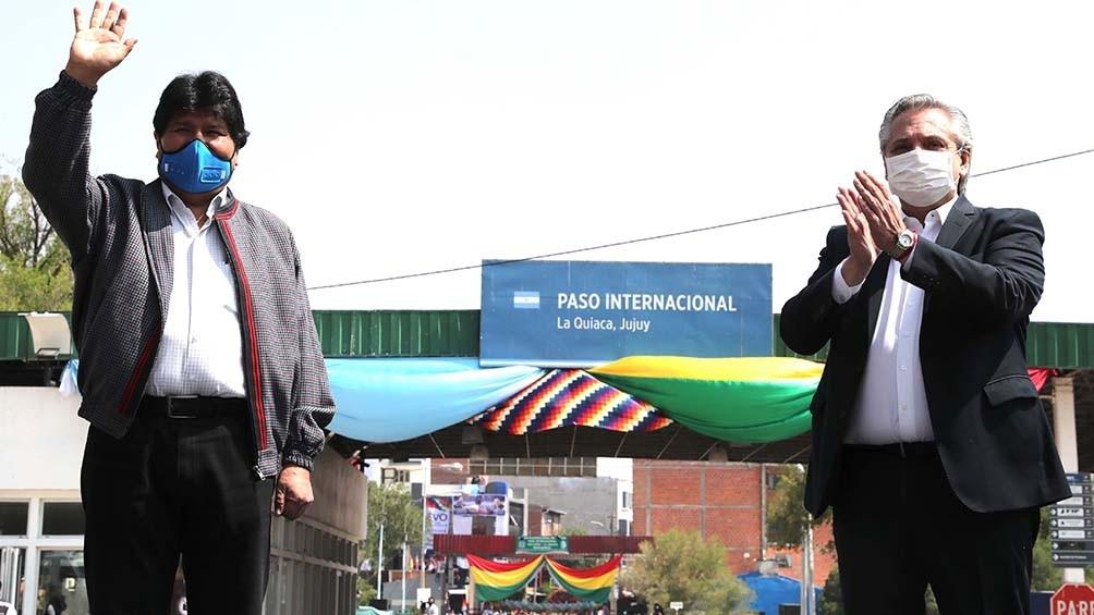 EL PUEBLO Y EVO CAMINAN JUNTOS POR  BOLIVIA.    Por Gustavo Parravicini, presidente del Frente Grande de Campana