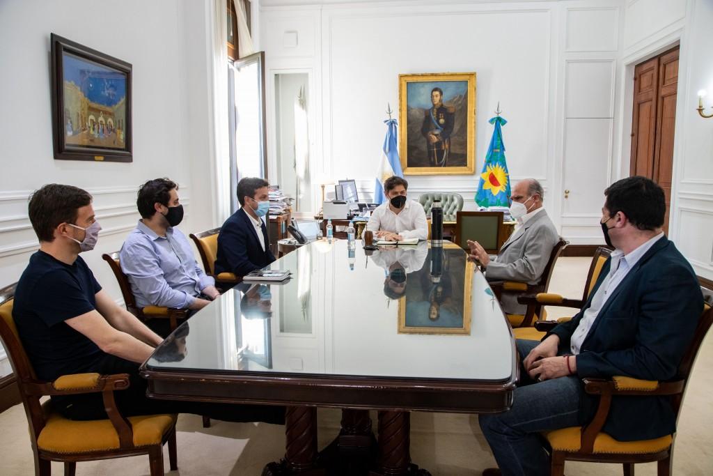 Kicillof puso en funciones al nuevo presidente del Consorcio de Gestión del Puerto Quequén