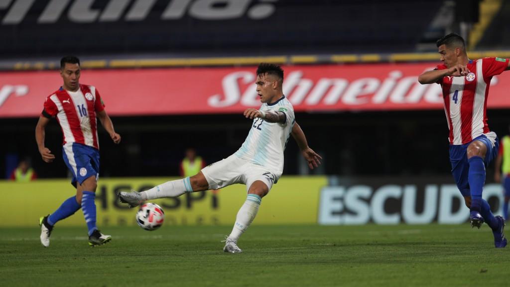 Argentina empató con Paraguay 1 a 1