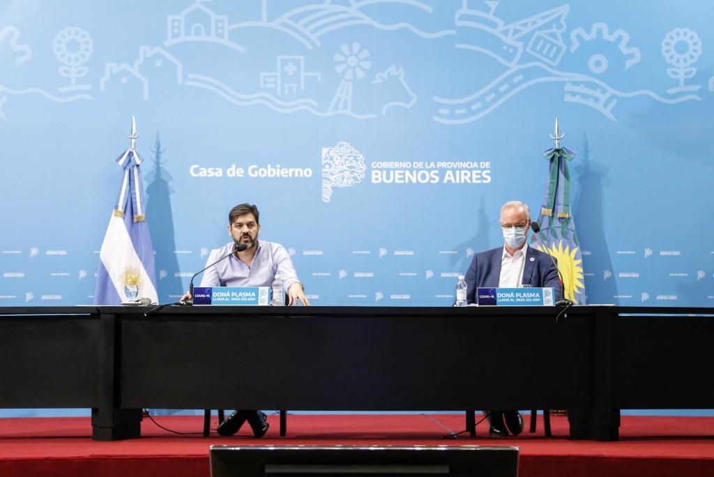 Bianco y Gollan brindaron la actualización sobre la situación epidemiológica y el esquema de fases en la Provincia