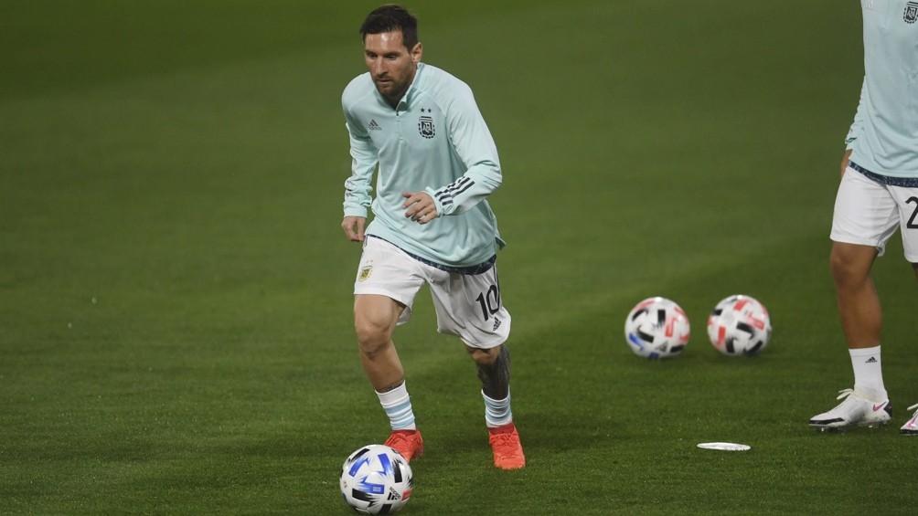 Messi:  jugamos un gran partido