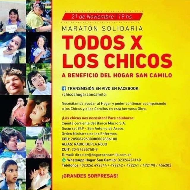Evento a beneficio del Hogar San Camilo en San Antonio de Areco
