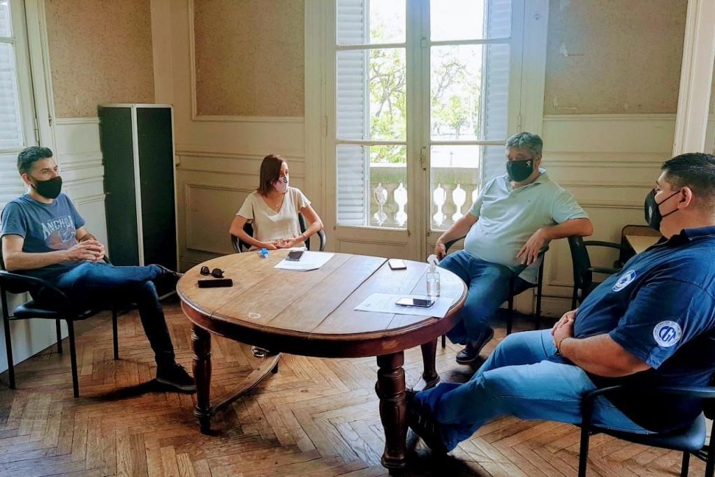 Ortega junto a concejales del FDT y un importante proyecto para el empleo local