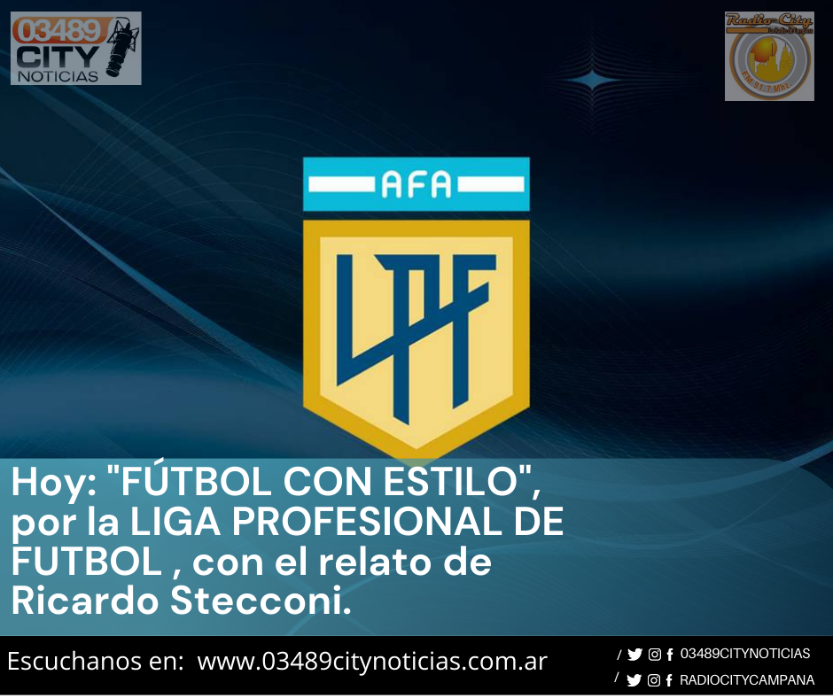 HOY RADIO CITY CAMPANA FM 91.7 Mhz TRANSMITE BOCA JUNIORS vs N.O.BOYS