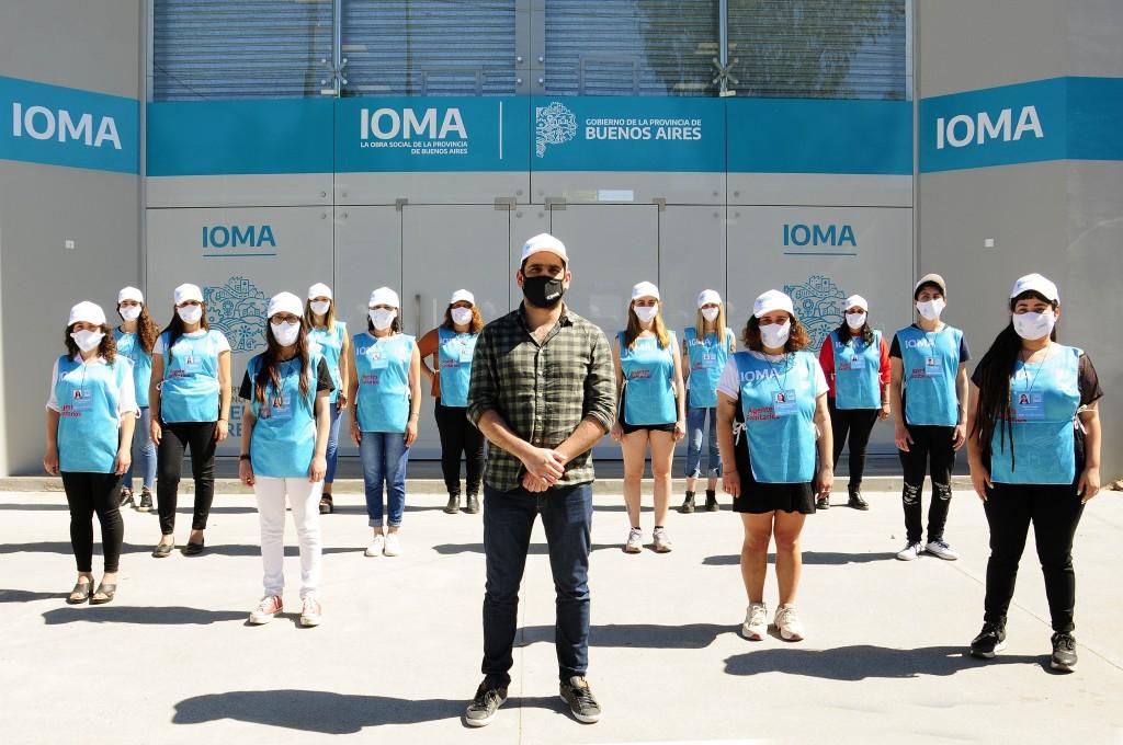 IOMA lanzó el Programa Agentes Sanitarios