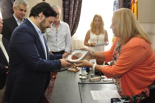 La Intendente Giroldi recibió la visita protocolar de las Autoridades de la Xunta de Galicia