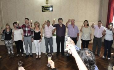 Trabajadores Municipales realizaron su tradicional brindis con motivo de estas fiestas
