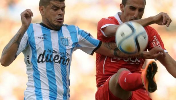 Racing Club perdió con Independiente por 2 a 1