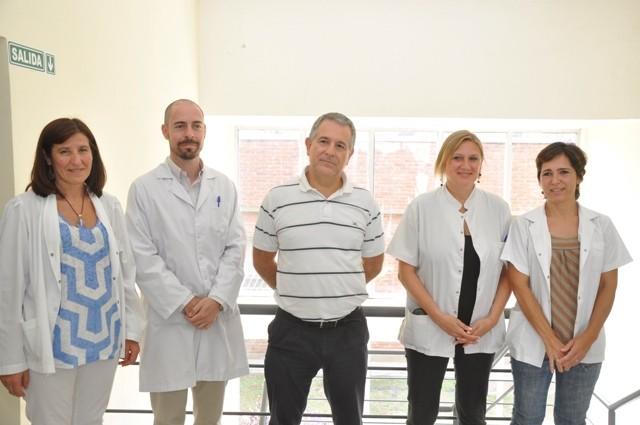 El Dr. Ernesto Meiraldi presentó al equipo de salud