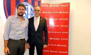 San Lorenzo se une a los esfuerzos de ONUSIDA
