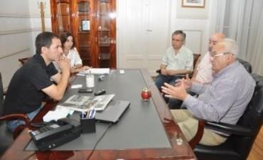 El intendente recibió a las autoridades de la CUCEI