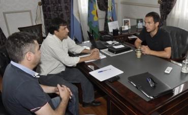 Abella se reunió con representantes de EDEN y les reclamó obras que eviten interrupciones de servicio