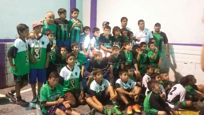 Unos 250 chicos participaron del Torneo de Fútbol Integración