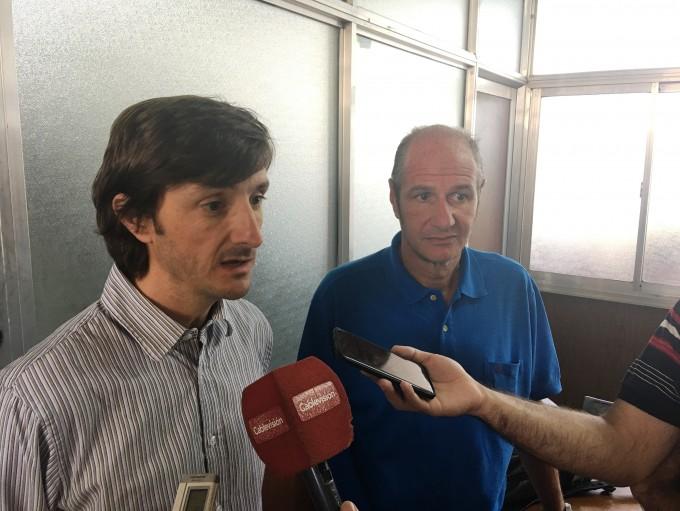 Nación inspeccionó las obras que lleva adelante el Municipio en San Cayetano