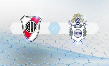 River y Gimnasia se enfrentan con el objetivo de ser el rival de Rosario Central