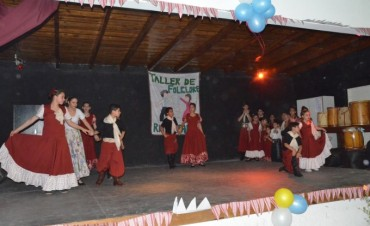 El Taller Municipal de Folklore realizó su muestra anual en Río Luján