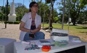 Se realizó una jornada informativa en el Día Mundial de la Lucha contra el VIH-SIDA