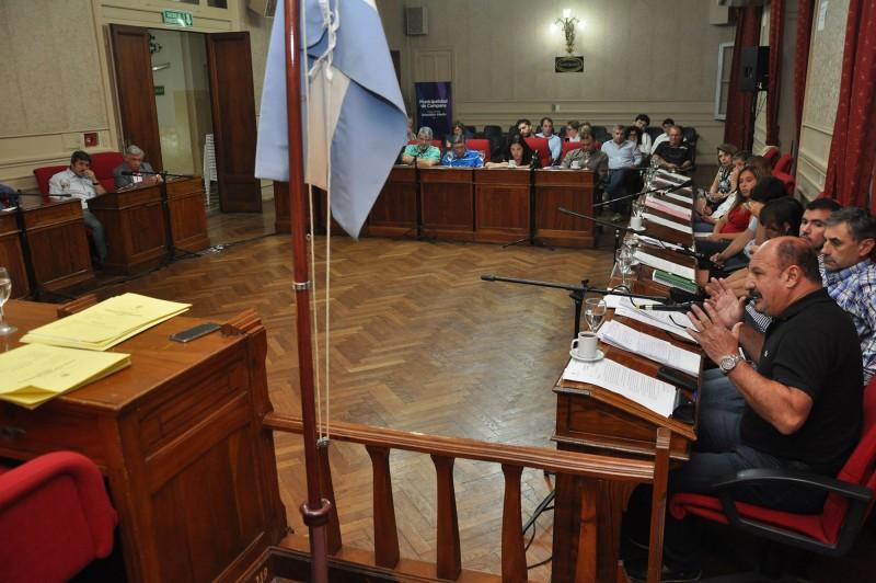 El HCD declaró Ciudadano Ilustre al profesor Pablo Garrido