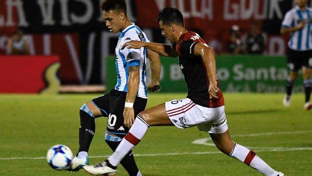 Racing Club empatò en Rosario