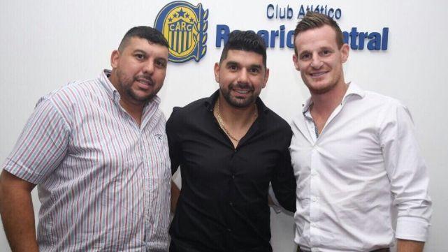 Ortigoza firmó con Rosario Central