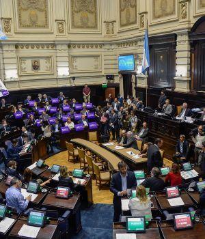 Vuelve a sesionar la legislatura bonaerense
