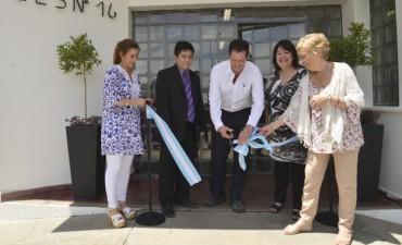 Junto a Tenaris, el Municipio participó de la reinauguración de la Secundaria Nº16