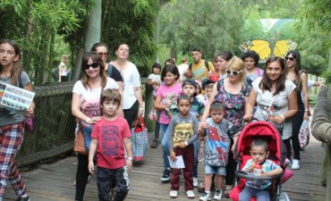 Niños de la ciudad disfrutaron de un día en Temaiken