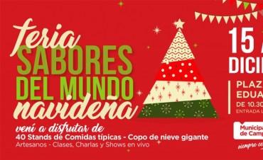 """Con una versión """"navideña"""", la Feria Sabores del Mundo regresa a la ciudad"""