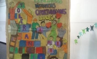 """Ce.A.T Nº 2. Isla Talavera inauguró la exposición mural """"Encuentro"""" desde la isla al continente…"""