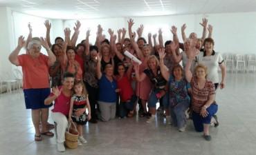 Adultos mayores participaron del cierre de actividades físicas y deportivas