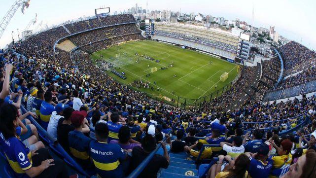 Los hinchas de Boca Juniors celebraron en su día