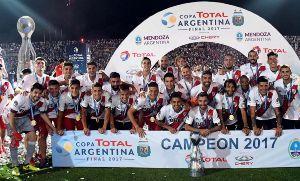River Plate venció a Atlético Tucumán 2 a 1 y es bicampeón de la Copa Argentina