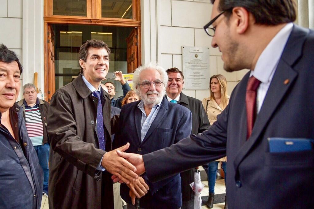 """Urtubey pidió una """"Argentina verdaderamente federal"""" en el homenaje a Dorrego"""