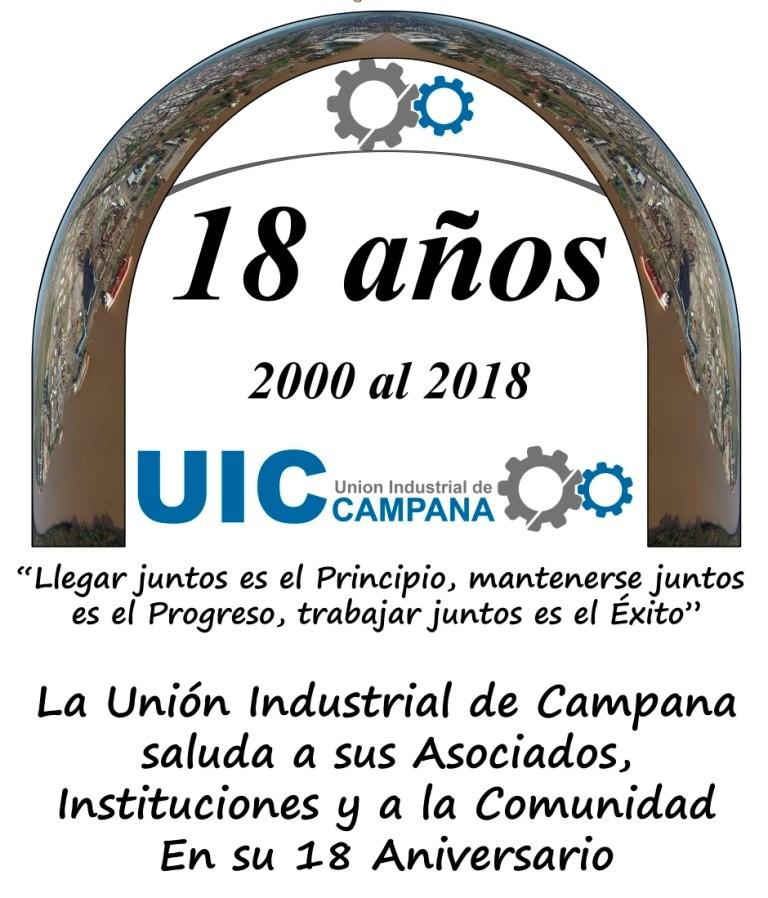 La Unión Industrial de Campana festejó su 18º Aniversario