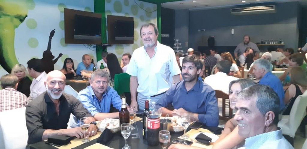 Costa despidió el año en Junín con un fuerte apoyo a Macri, Vidal y Petrecca