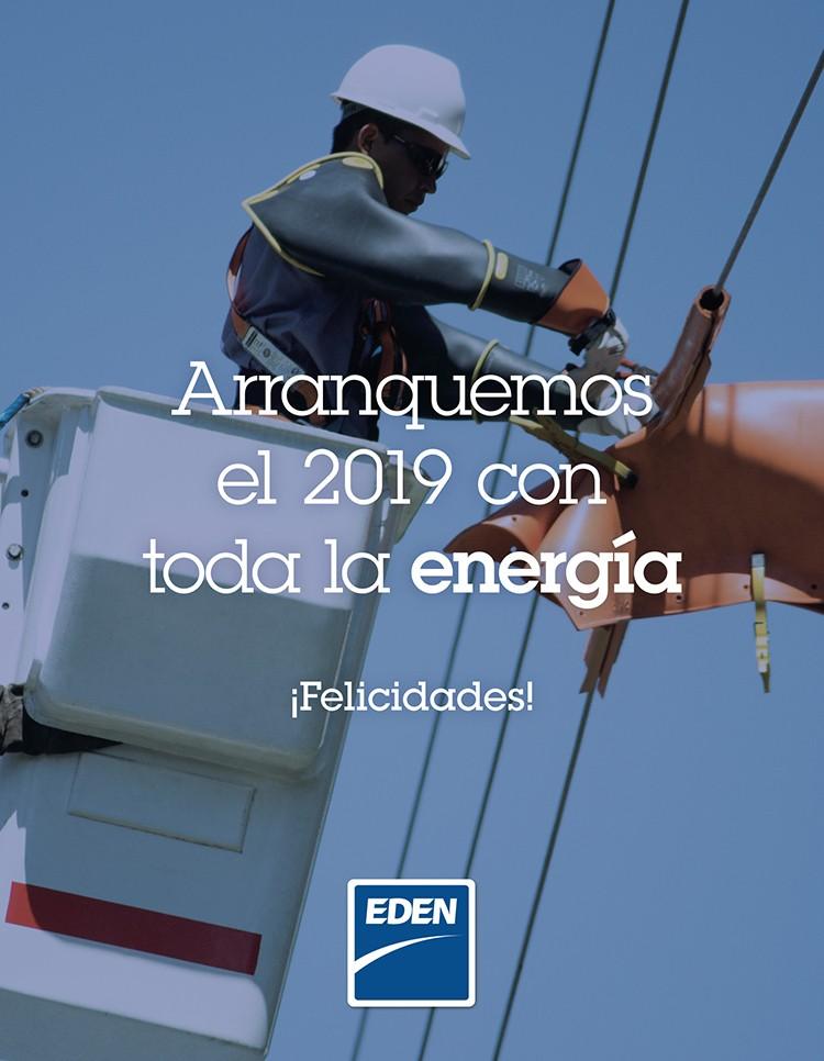Por un 2019 con buena energía!!!